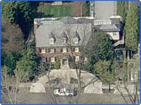 Bill and Hillary Clinton's Washington, D.C. House